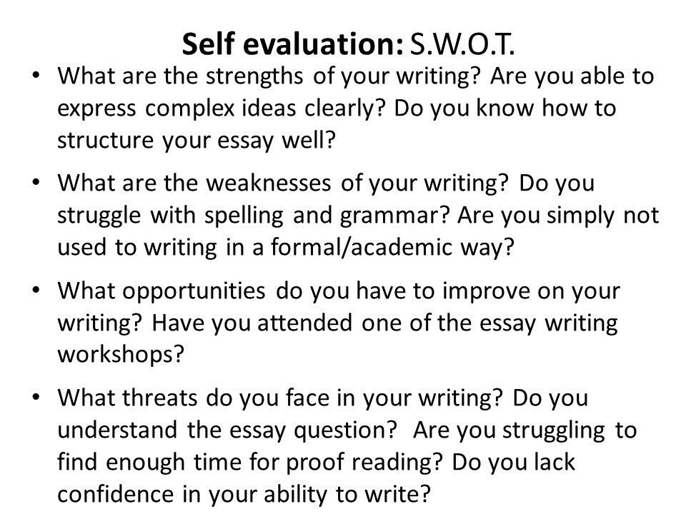 The Basics of Essay Writing | UNSW Current Students