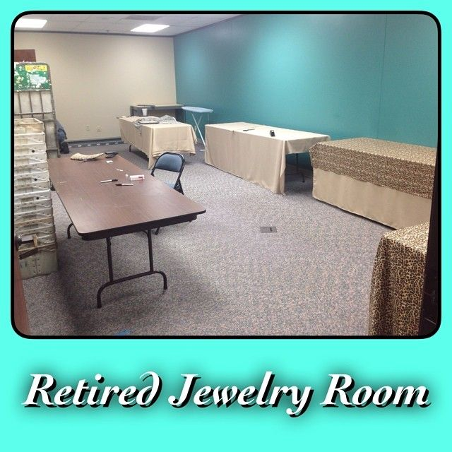 Around The Home Office: The Retired Jewelry Room Revamp Is Coming Along!! It