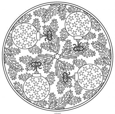 christmas adults mandala coloring pages printable and coloring book to print for free find more coloring pages online for kids and adults of christmas - Christmas Mandalas Coloring Book
