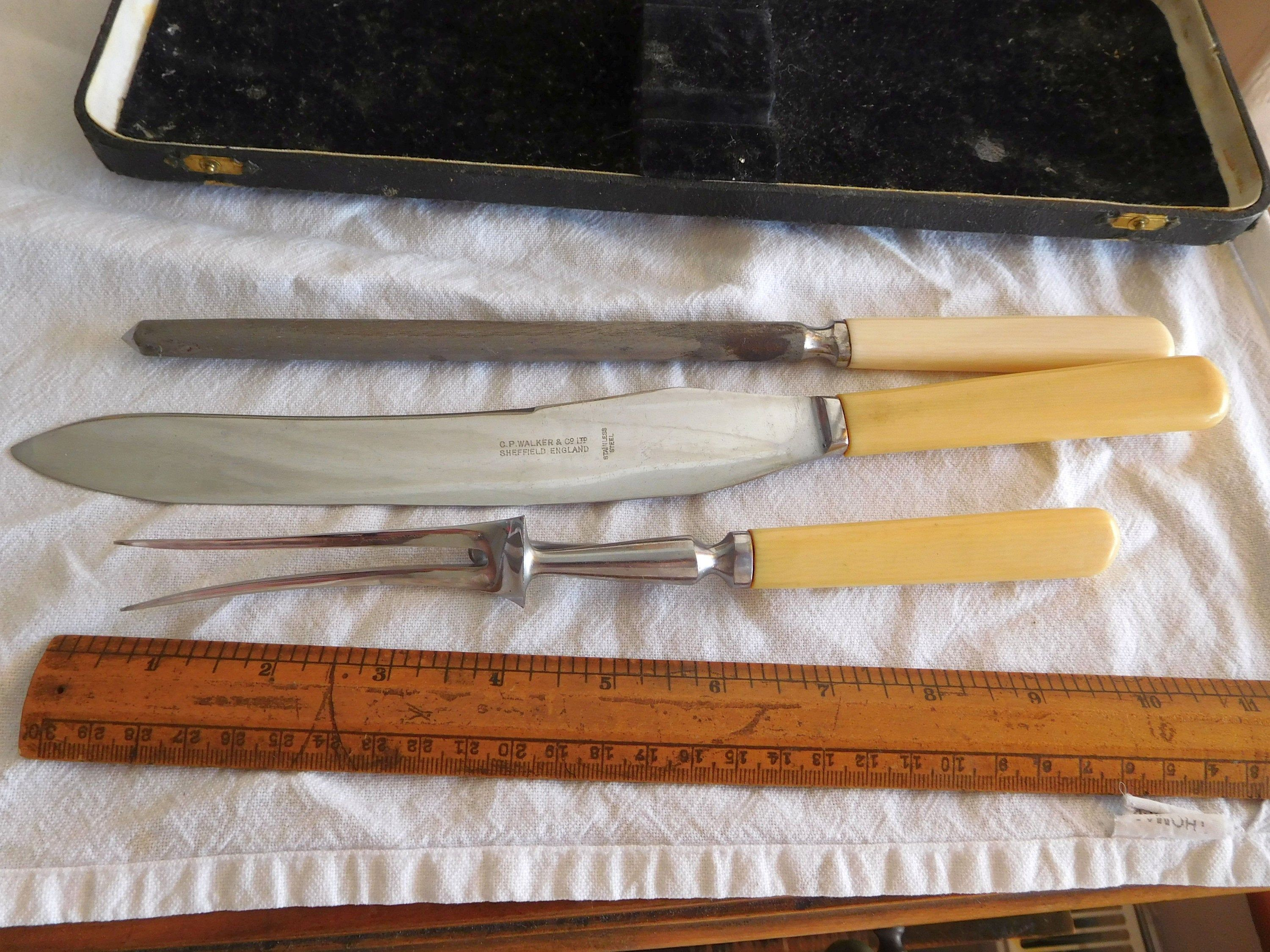 New Stainless Steel Old English Dessert Fork Made In Sheffield England