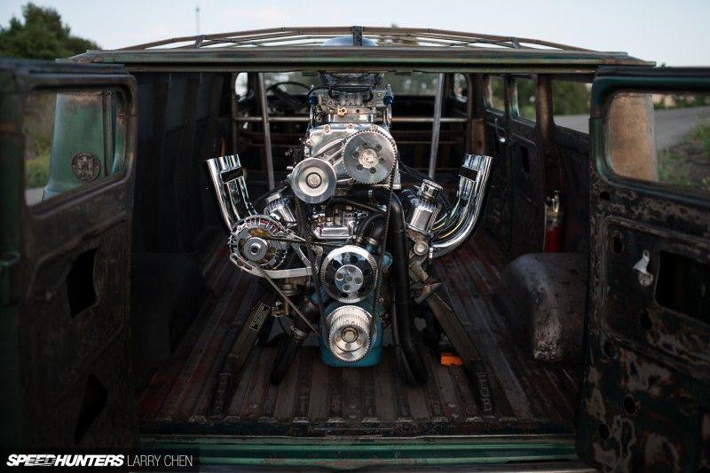 Boogie Van:  Engine In The Back, Wheels In The Air
