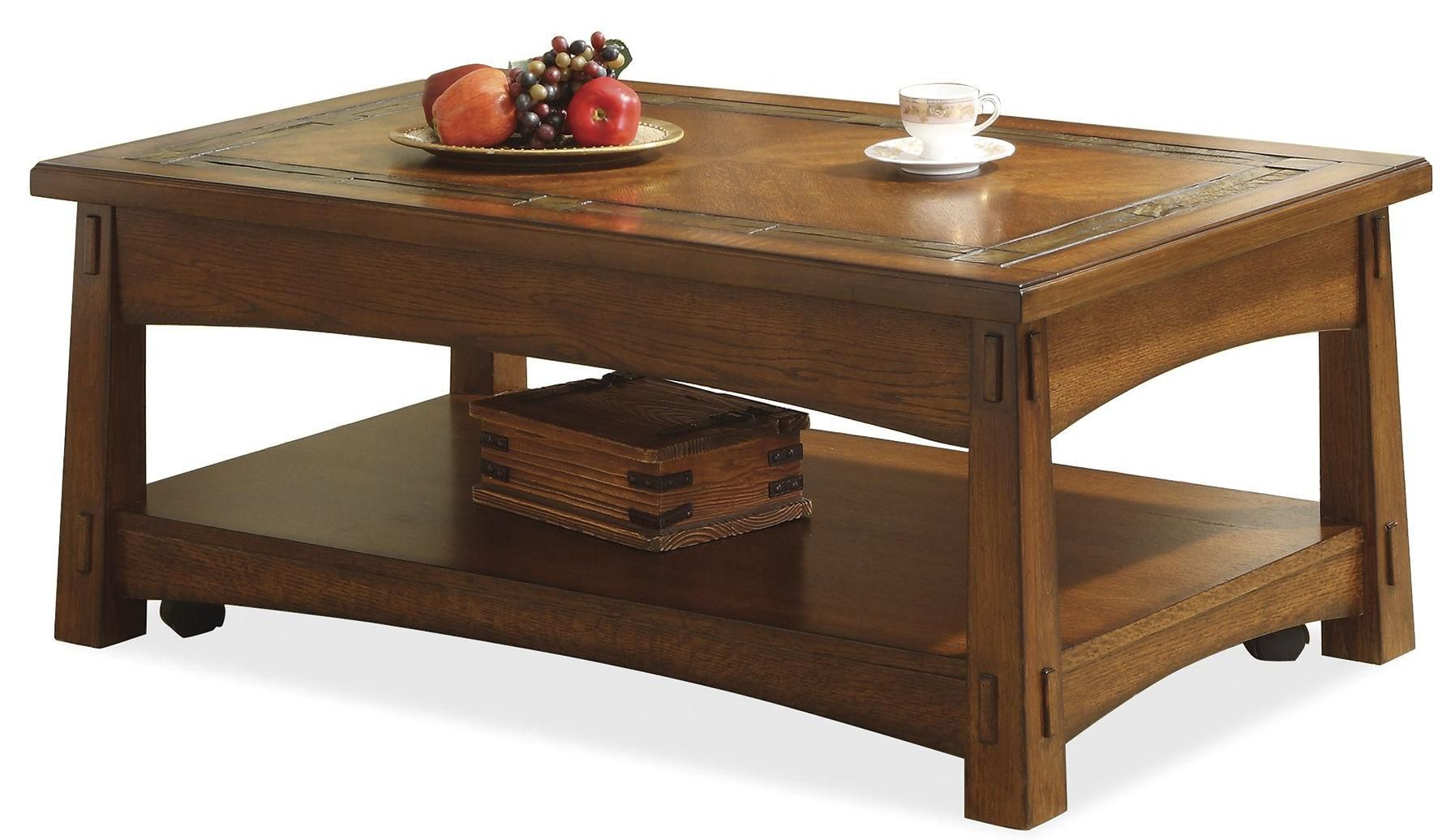 Craftsman Home Lift Top Coffee Table By Riverside Furniture Coffee Table Home Coffee Tables Riverside Furniture [ 1036 x 1789 Pixel ]