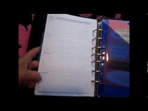 My DayTimer Planner Set Up  Life Planning Organizer