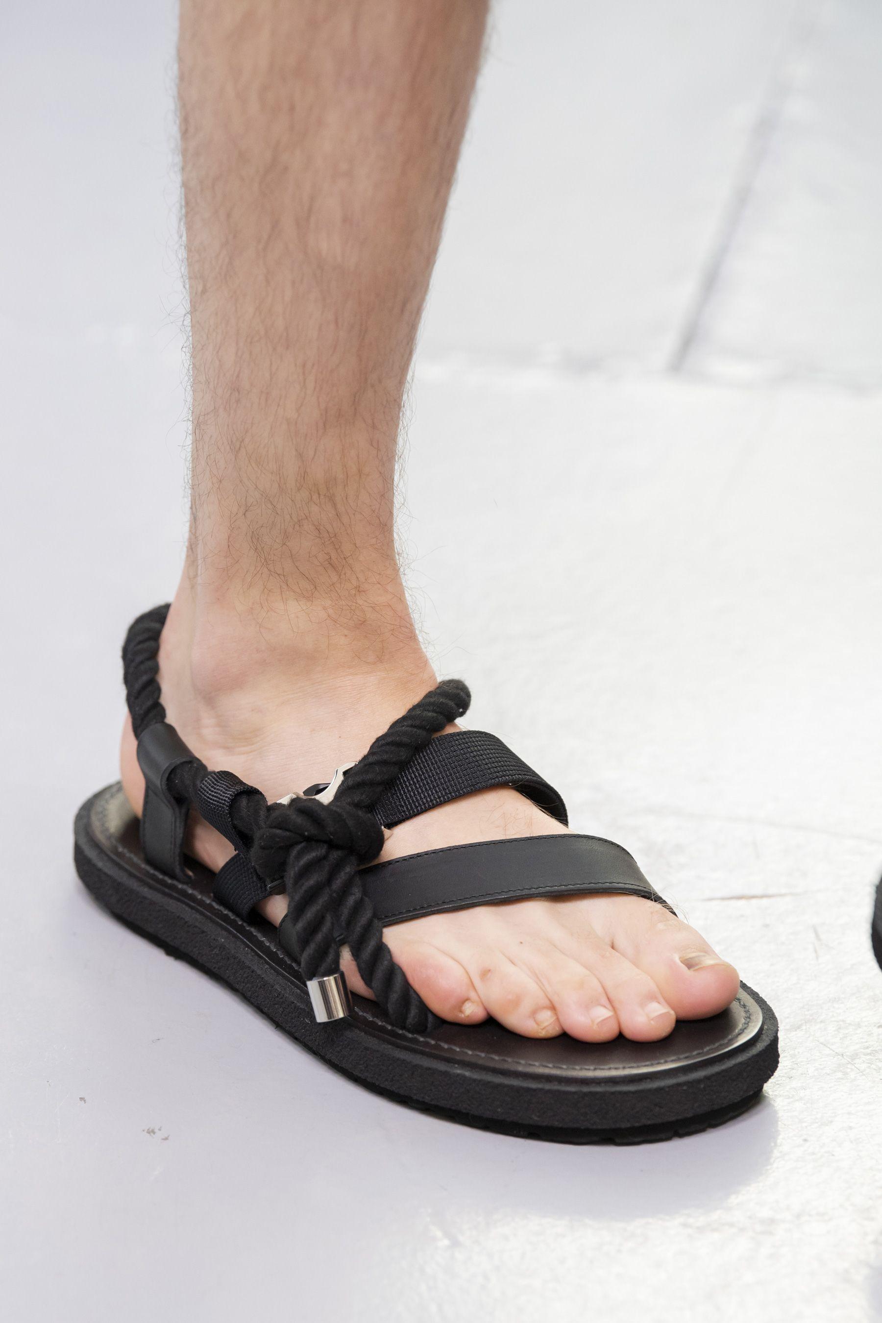 Mens sandals fashion, Men fashion show