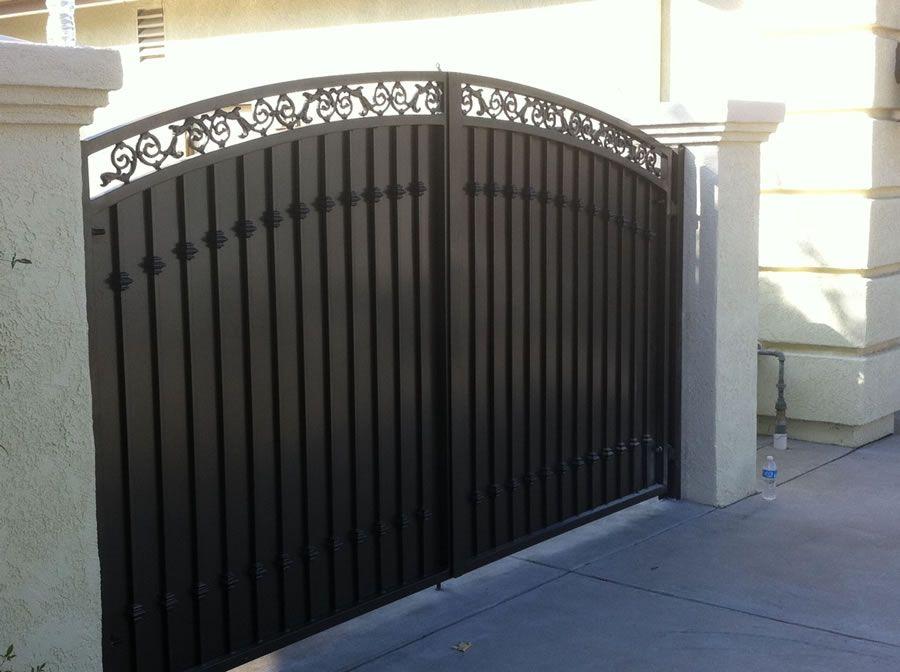 Driveway Gates Sams Fence Cercas Fences Pinterest