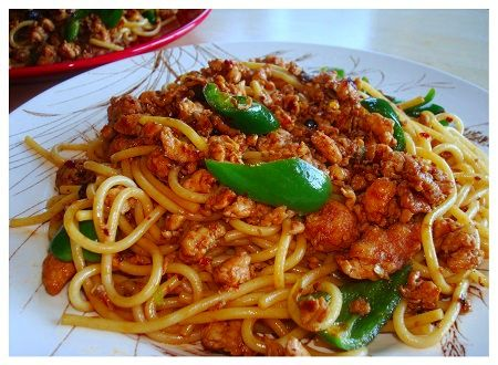 Chinese food recipe sichuan style chicken noodle oriental chinese food recipe sichuan style chicken noodle forumfinder Images