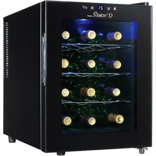 Wine Cooler Refrigerator Fridge Chiller 12 Bottle Countertop