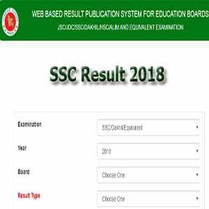 ssc result 2018 bangladesh education board 10 class exam result 2018