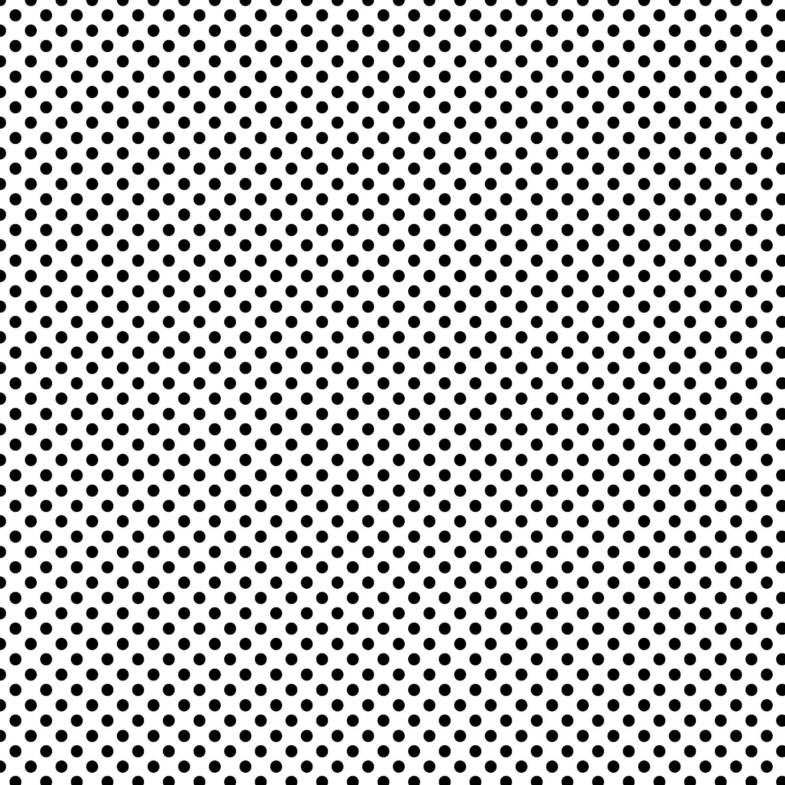 Mini Black Polka Dots On White From Free Vintage Digital