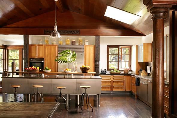 The 70 000 Dream Kitchen Makeover: Spacious And Bright, Earth-toned Kitchen In A Bali