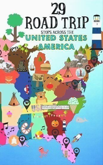 USA Road Trip. The United States Is Certainly One Of The