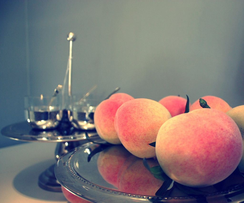Peaches Peach Fruit Cheap Home Decor