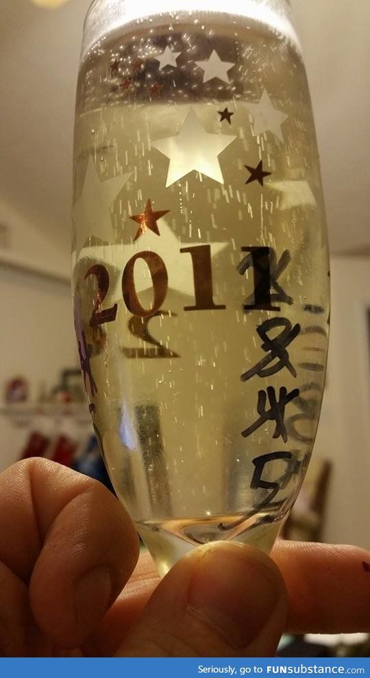 Because I'm not buying a new glass every year