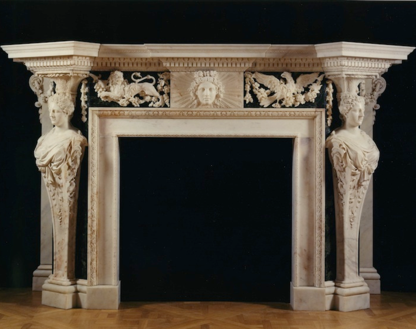 fireplace by kent for wanstead house ornamentos esculpidos
