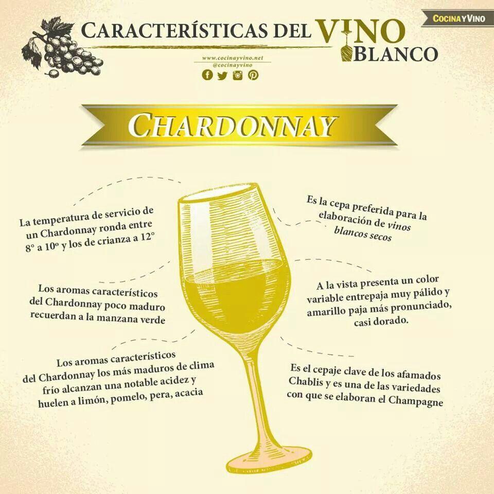 Caracteristicas Del Vino Blanco Chardonnay Cata De Vinos Elaboracion Del Vino Chardonnay