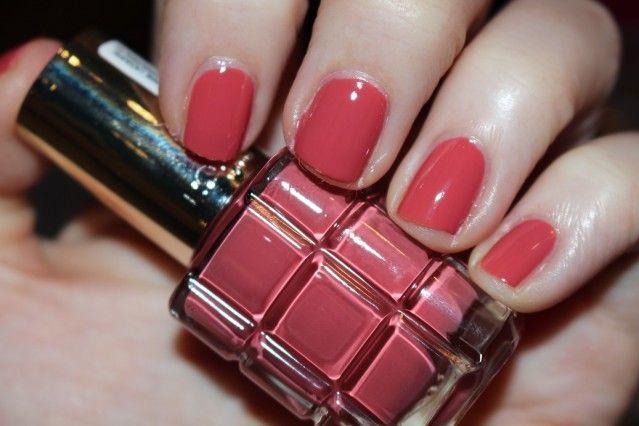 L'Oreal Paris Color Riche L'Huile Nail Varnish Swatches | Colours ...