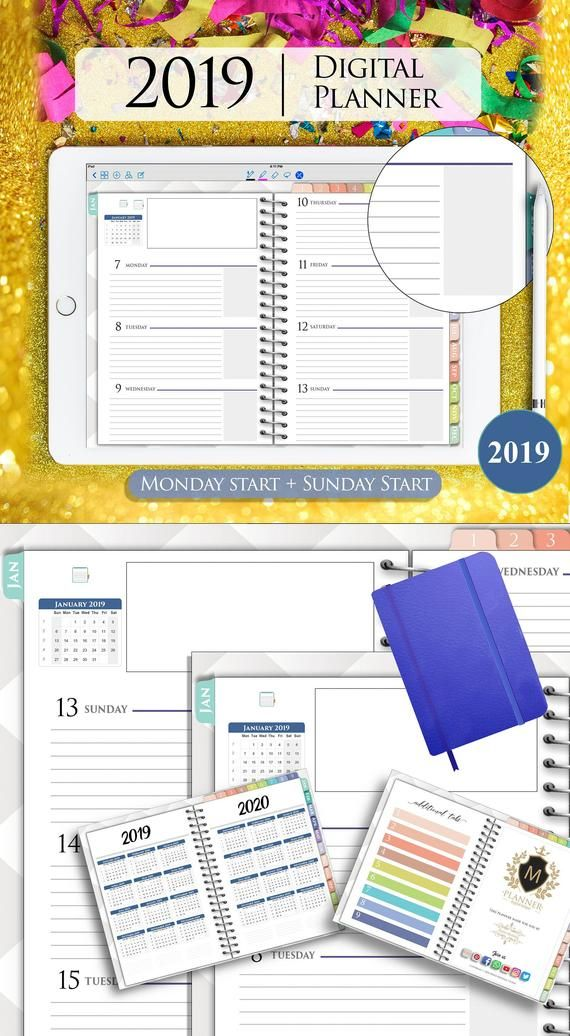 graphic about Digital Planners and Organizers referred to as Pin upon Products and solutions