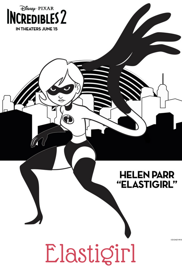 Elastigirl Coloring Page Coloring Pages Free Printable Coloring Sheets Coloring Sheets