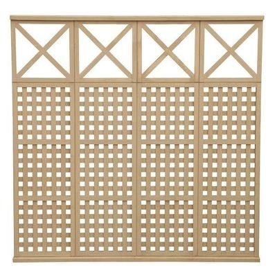 Yardistry 4 High Lattice X Privacy Panel Ym11515 Home