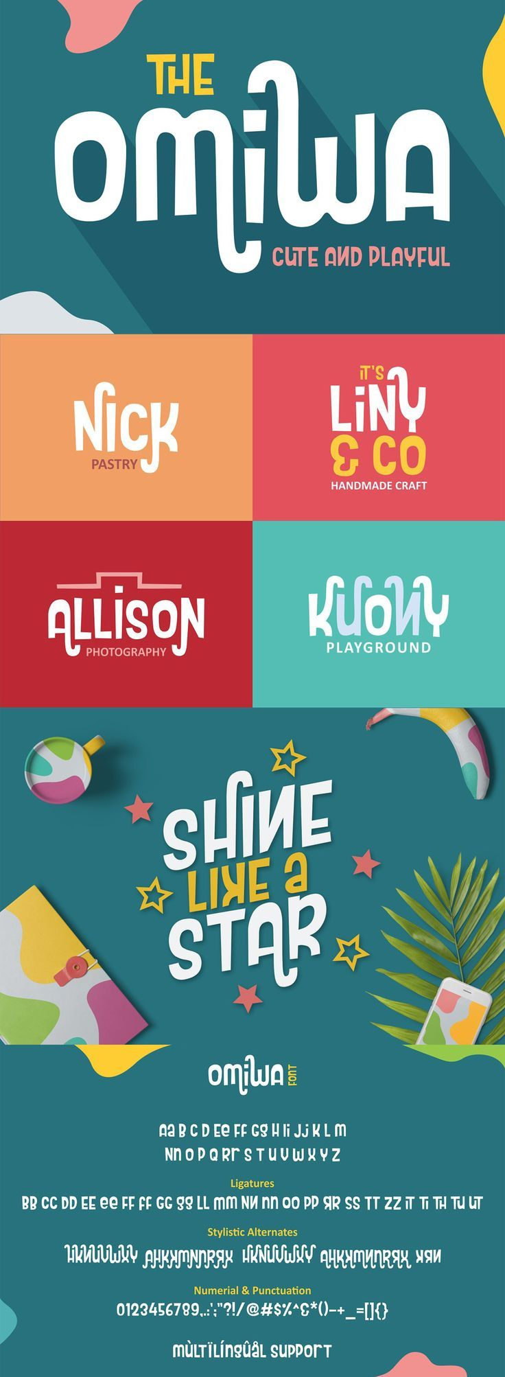 Omila font Lettering fonts, Logo design typography