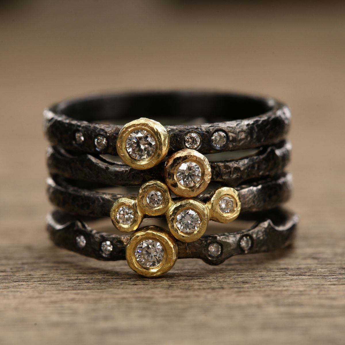 Yasuko Azuma diamond rings