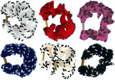 Wholesale Jewelry & Accessories - Solid Color & Beaded Scrunchies