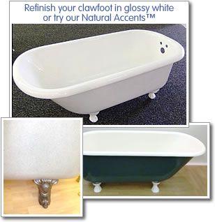 Clawfoot Bathtub Refinishing Cast Iron Tub Refinishing Miracle