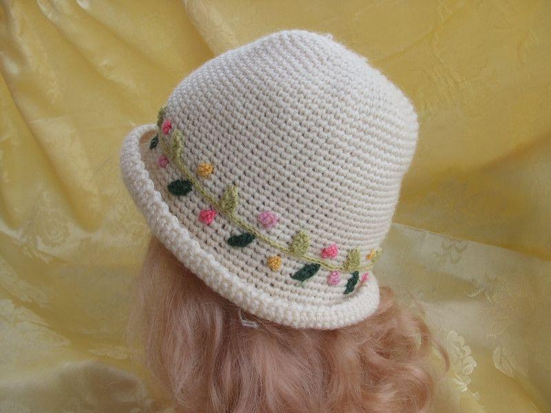 cappello bimba uncinetto lana di mod'o su DaWanda.com