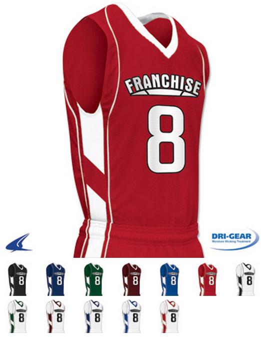 2217cf9d2af4 Franchise Basketball Jersey by Champro Sports Style Number BBJ8 ...