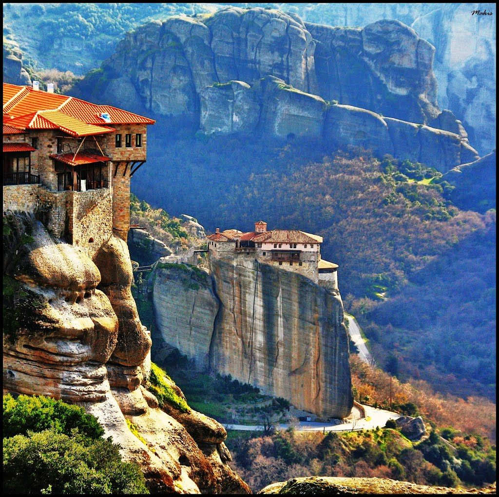 Amazing Places To Go Europe: Monasteries On The Rocks!