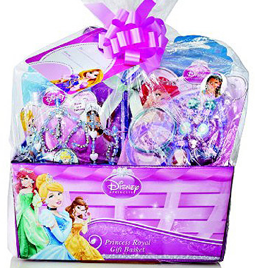 Pre made easter basket for girls disney princess royal gift pre made easter basket for girls disney princess royal gift easter basket at wal negle Image collections