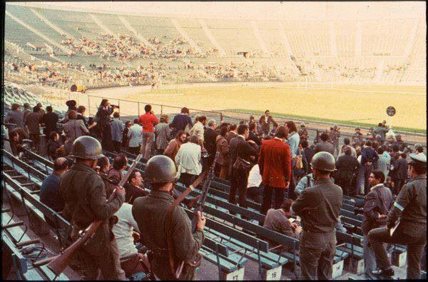 Image result for estadio nacional 1973