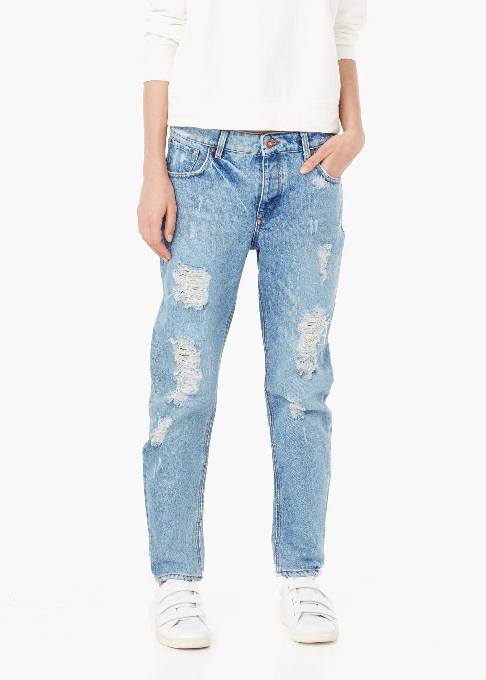 b409a32aa23f7 Jean boyfriend angie - Femme   vêtements   Pinterest   Jeans, Jeans ...
