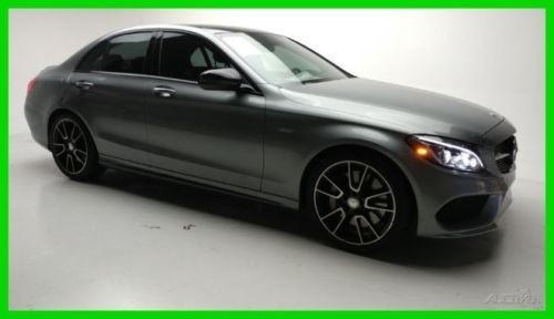 2016 Mercedes Benz C Class 4dr Sdn C450 Amg 2016 4dr Sdn C450 Amg Used Turbo 3l V6 24v Automatic 4matic Sedan Premium Benz C Luxury Cars For Sale Mercedes Benz