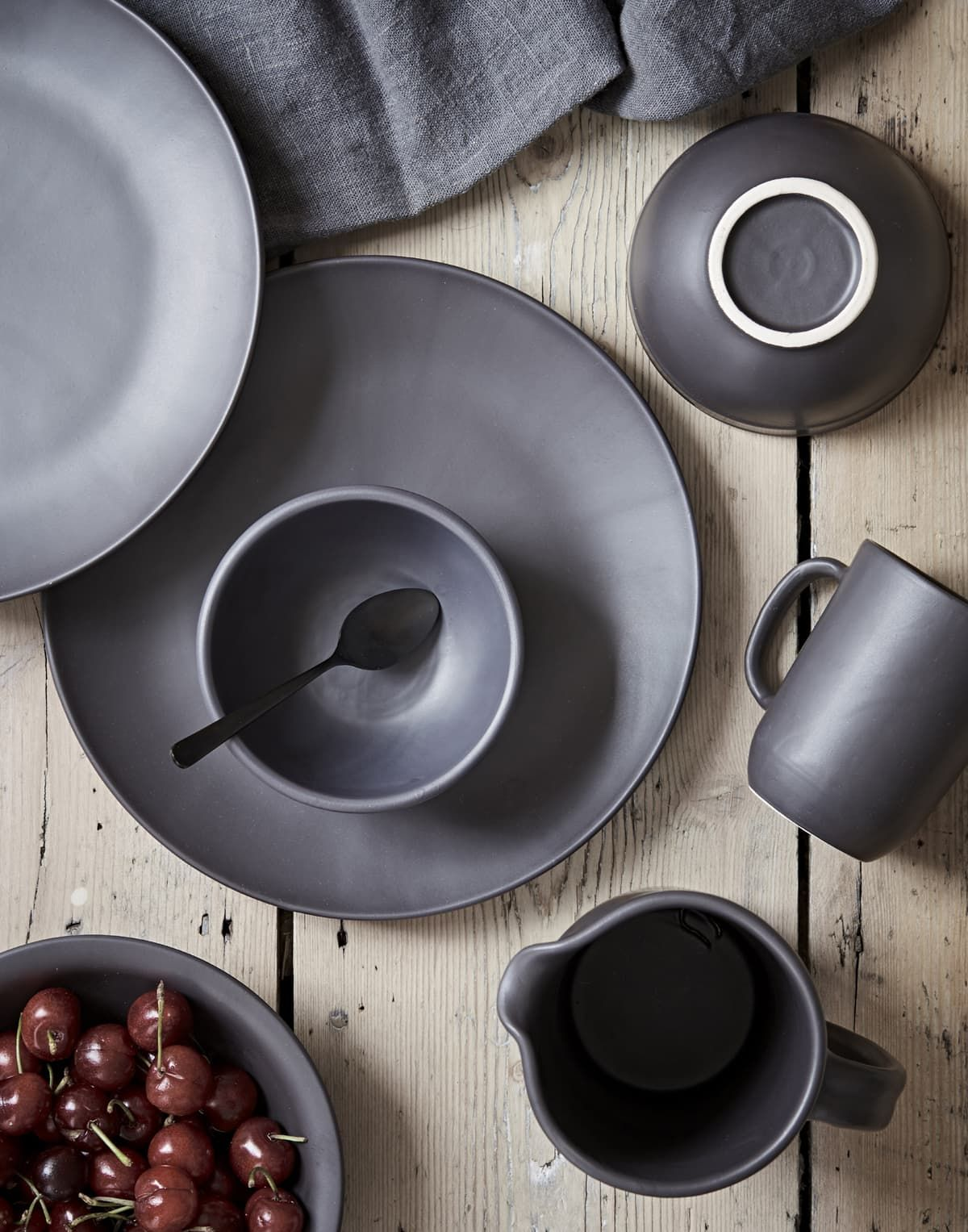 Home interior fruit plates trend spotting matte is back and looks better than ever