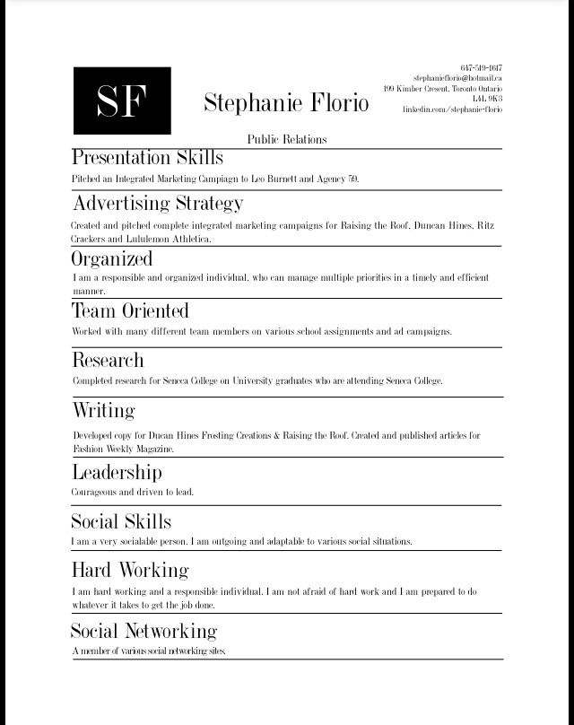 Skills Based Resume -Portfolio- Pinterest - career builder resume builder