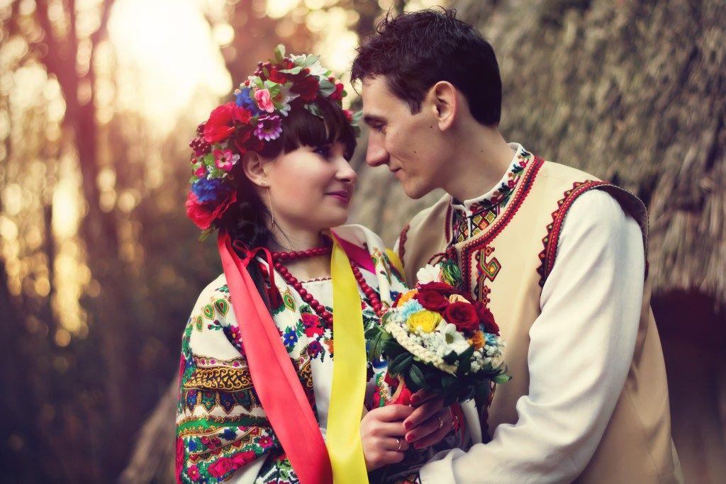 Красивая украинская пара 7
