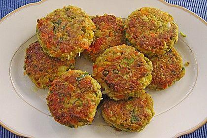 Vegane Gemüsefrikadellen von Mamelinchen | Chefkoch
