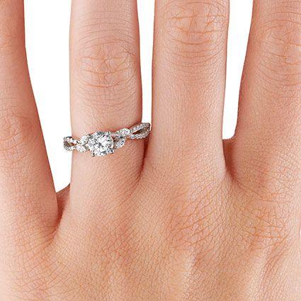 Diamond Vine Ring Luxe Willow Brilliant Earth