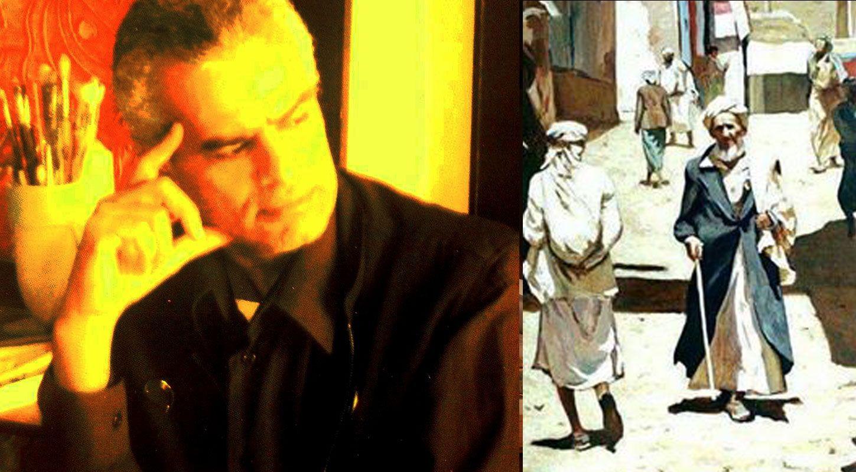 قراءة نقدية في تجربة الفنان التشكيلي اليمني طلال نجار احد عباقرة فن التصوير اليمني المعاصر الصدى نت Art Painting Fictional Characters