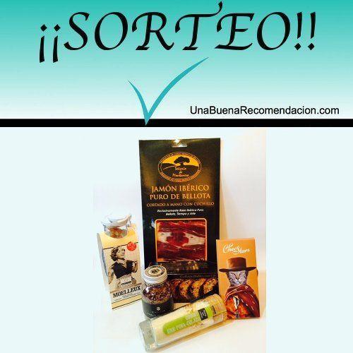Sorteo Lote Caprichos Gourmet  http://www.unabuenarecomendacion.com/index.php/sorteos/4977-sorteamos-un-lote-de-caprichos-gourmet