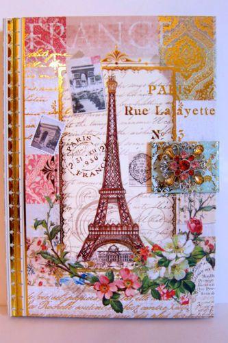 Punch Studio Arc De Triomphe Paris Magnetic Closure Journal