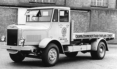 Thornycroft Taurus Lorry Commercial Vehicle Old Trucks
