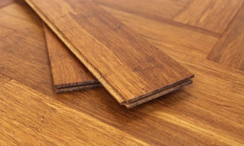 NEW Carbonised Strand Woven Parquet Block Bamboo Flooring