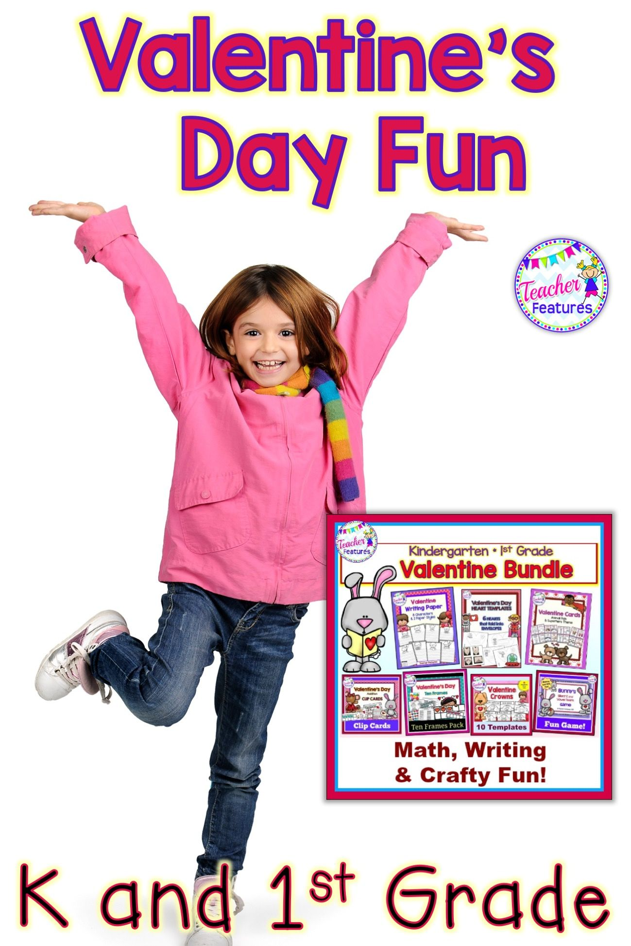 Valentine S Day Activities Centers For 1st Grade And 2nd