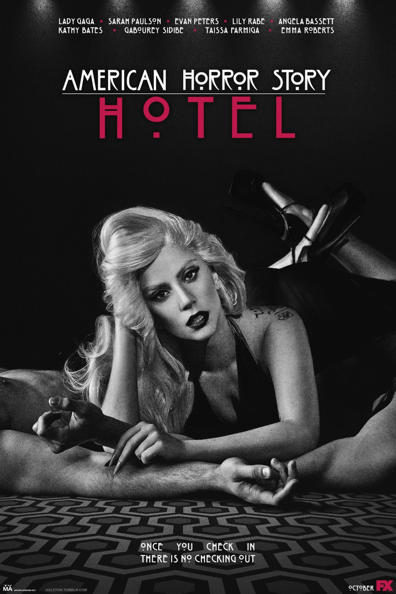 American Horror Story Hotel Wallpaper 75 Images Lady Gaga