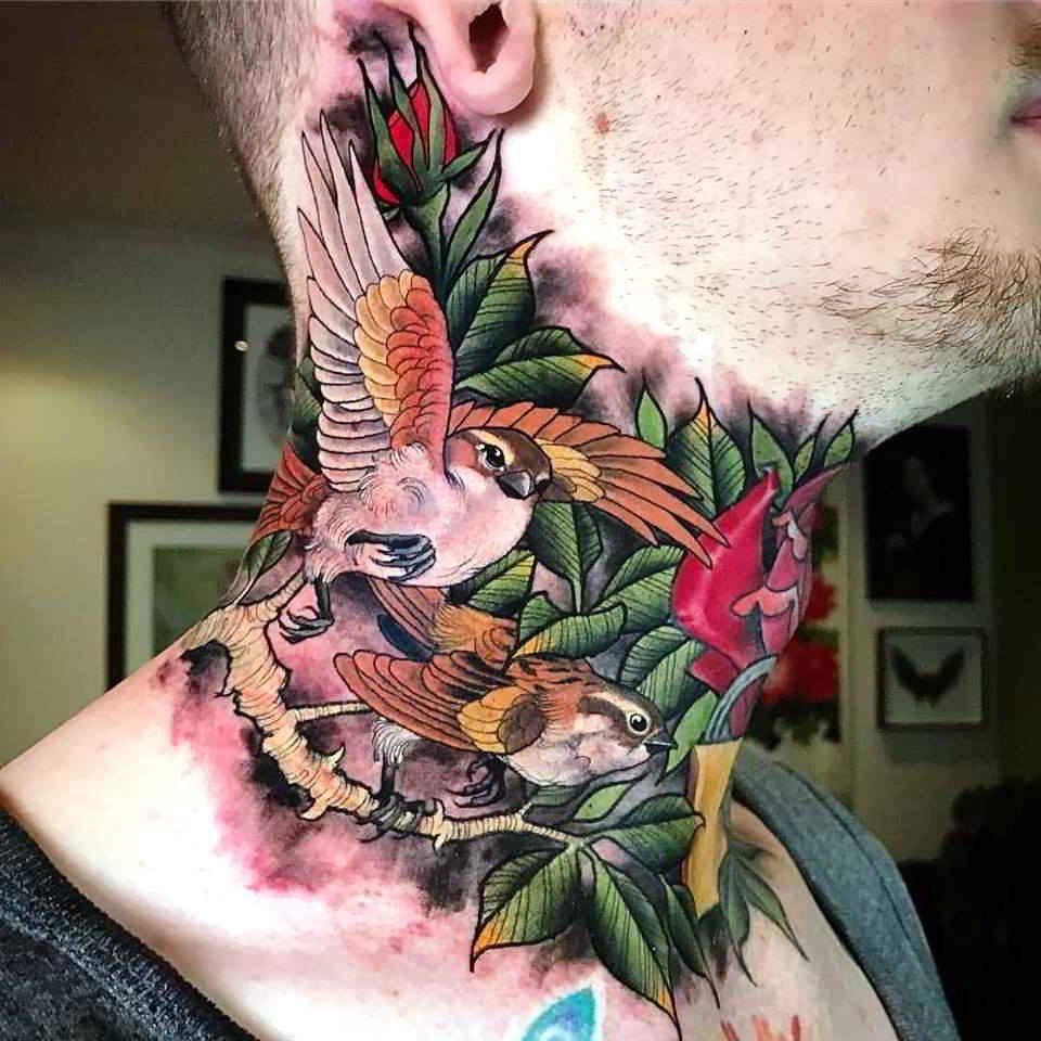 Neck Tattoo Ideas Neck Tattoo Latest Hottest Tattoo