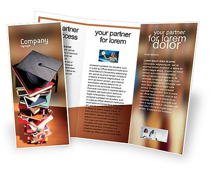 Academic Studies Brochure Template Brochure Idea Pinterest - university brochure template
