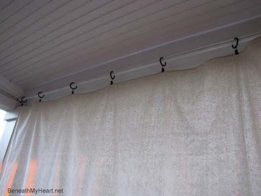 die besten 25 sch tzende verandavorh nge ideen auf pinterest veranda vorh nge sch tzende. Black Bedroom Furniture Sets. Home Design Ideas