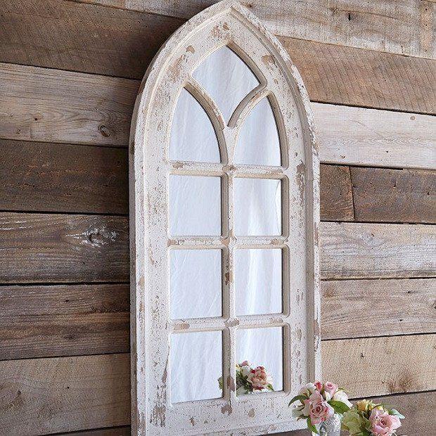Distressed Arched Window Mirror Arched Window Mirror Window
